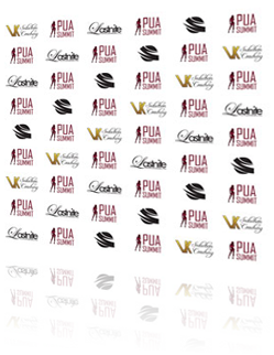 VK Seduction Coaching Red Carpet Banner & Logo Design