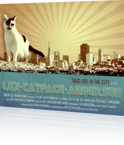 Lux Catface Anderson Fantasy Movie Poster