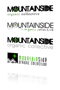 Mountainside Organic Collective Logo Design