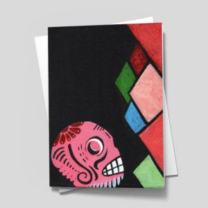 Sugar Skull Card - 5 x 7